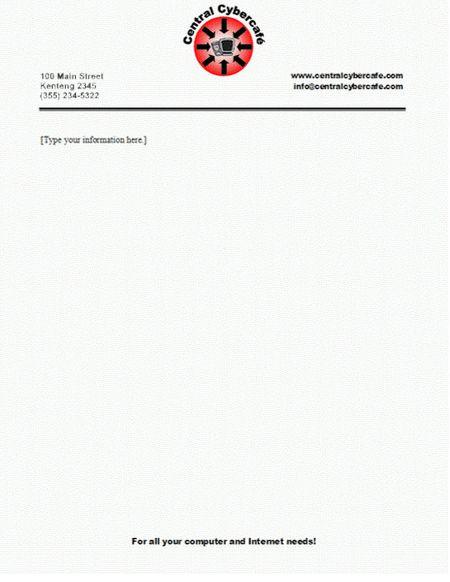 Letterhead Format For Company 15 Company Letterhead Templates - letterhead format in word