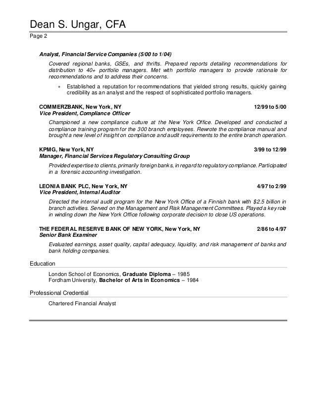 bank examiner cover letter - Major.magdalene-project.org