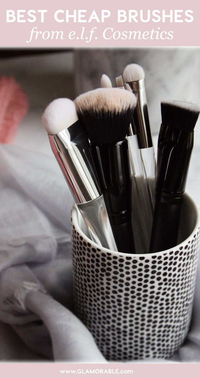 6 Best e.l.f. Cosmetics Makeup Brushes I Use All The Time – via @Glamorable