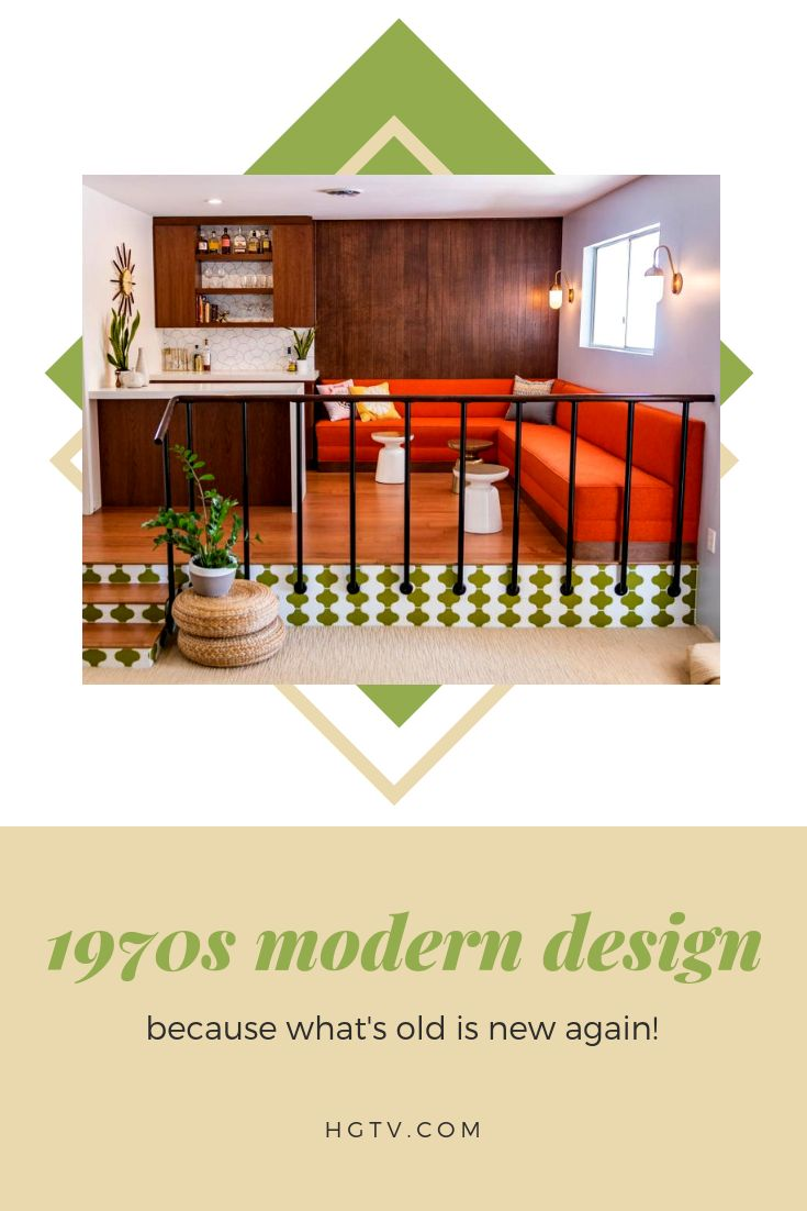 Old favorites are always bound to bounce back, and the 1970s aesthetic is in the limelight again. Check out these groovy design that would have fit right in during the 'Brady Bunch' era.