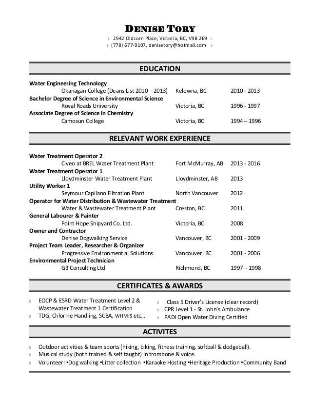 ... Environmental Technician Cover Letter Environmental Technician   Av Technician  Cover Letter ...