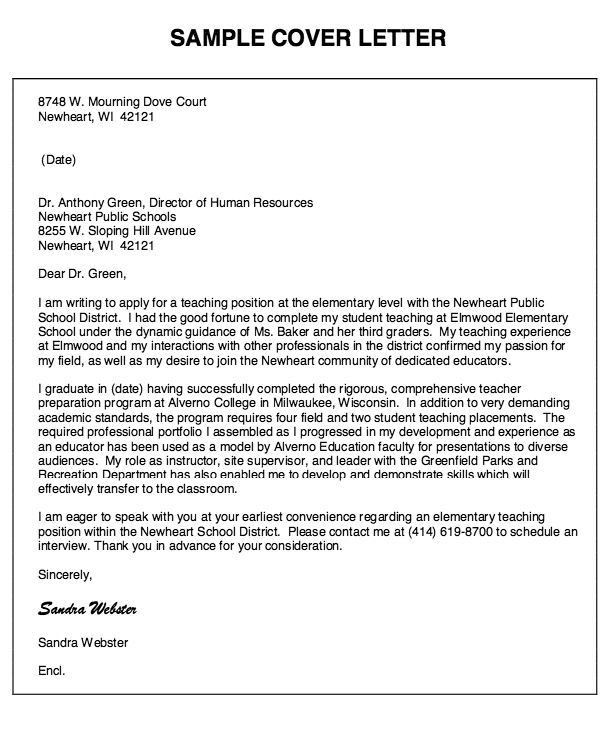 teacher assistant cover letter examples teaching assistant cover examples of teacher cover letters