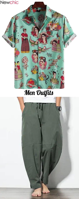 Get More #MenOutfit Idea! #Shirt #Casual