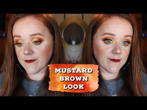 Mustard Brown Neutral Makeup Tutorial – YouTube