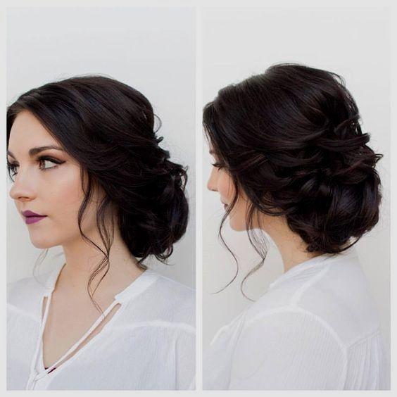 Bridesmaid Hair Bun