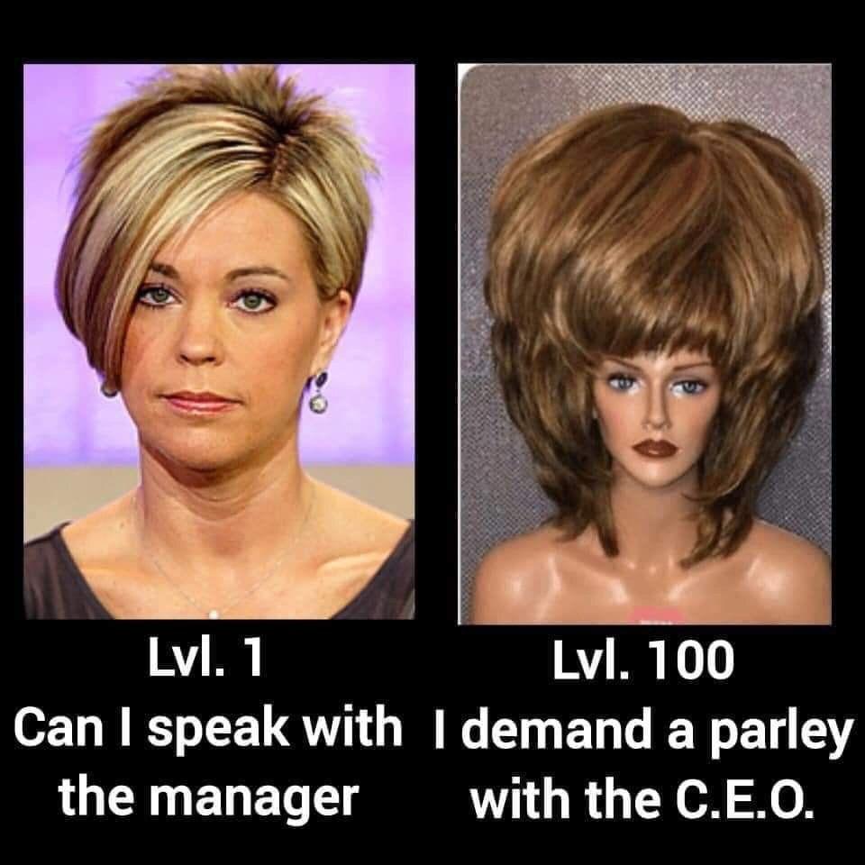 ahh customers #manager #haircut #funny #lol #rofl #lmao #lmfao #meme #memes #relatable #true #truth