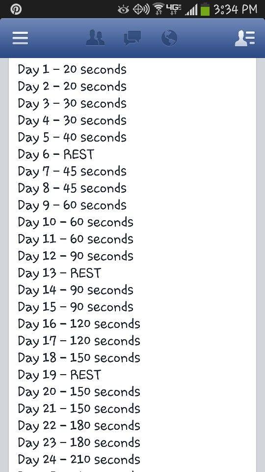 Plank X 30 Days Plank Challenge 30 Day Plank Challenge 30 Day Plank