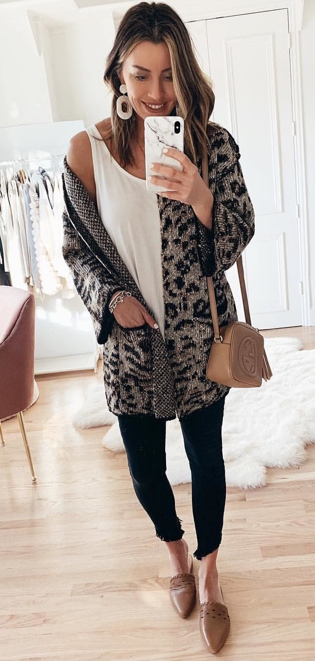 black and brown long sleeve dress #winter #outfits
