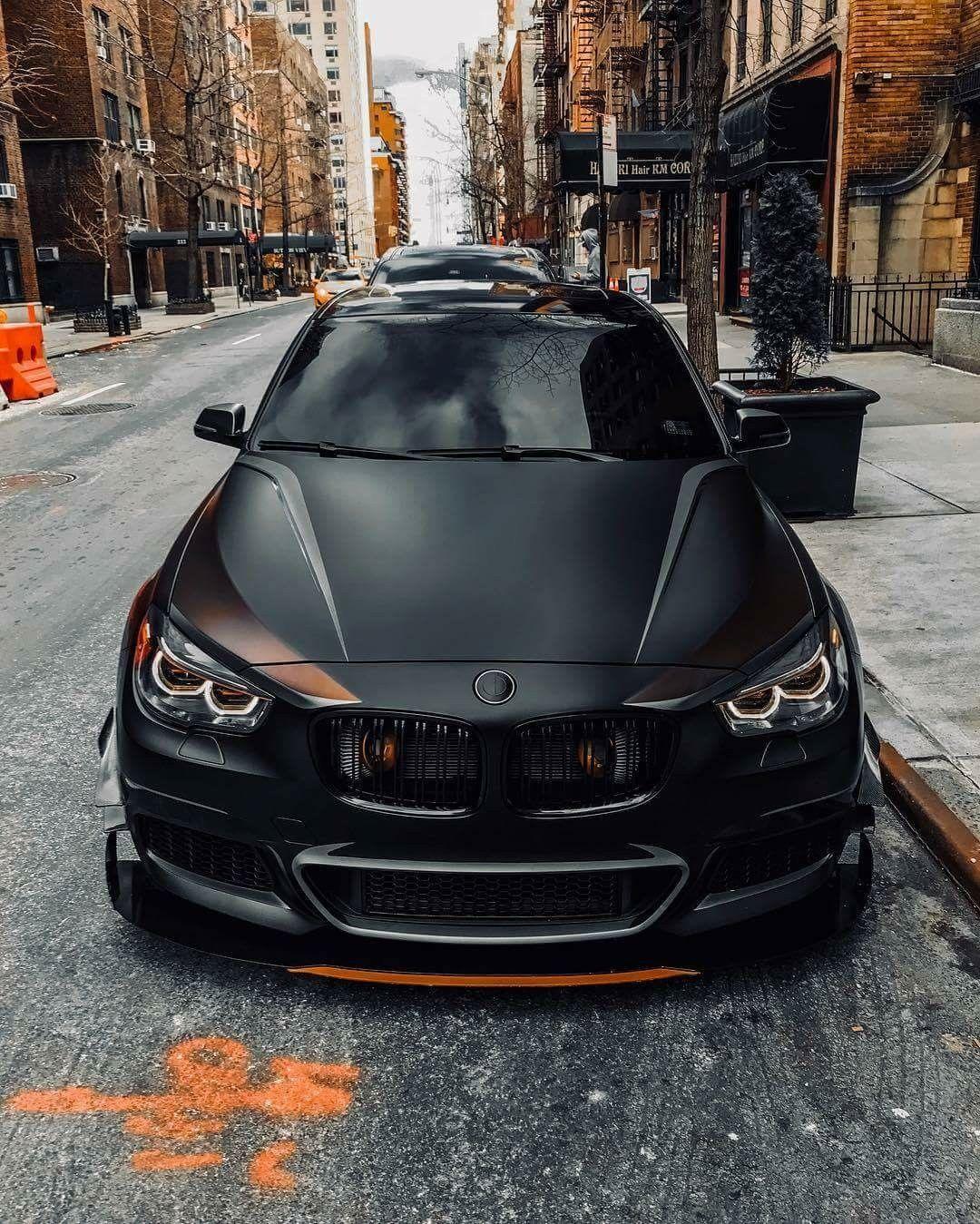 BMW F07 5 series GT black   Роскошный автомобиль ...