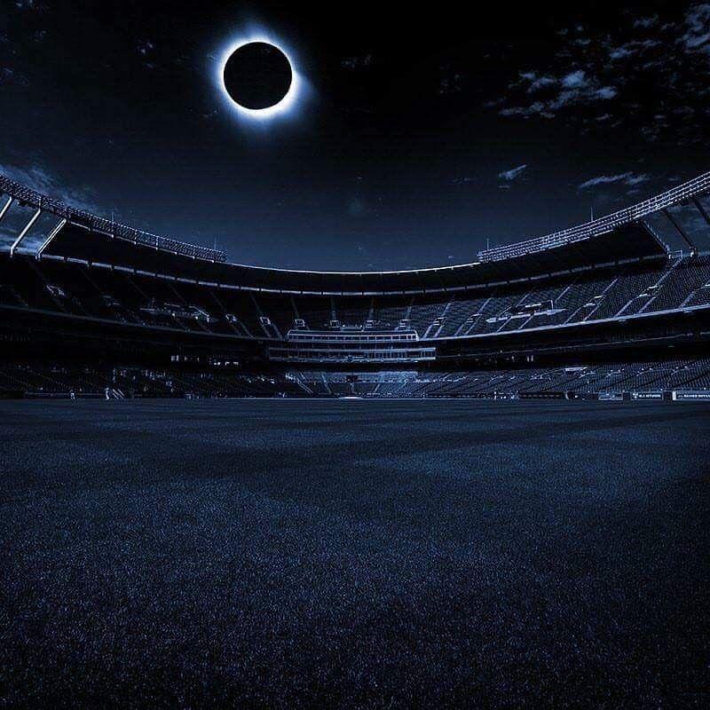 08 21 2017 Total Solar Eclipse Kauffman Stadium Kc