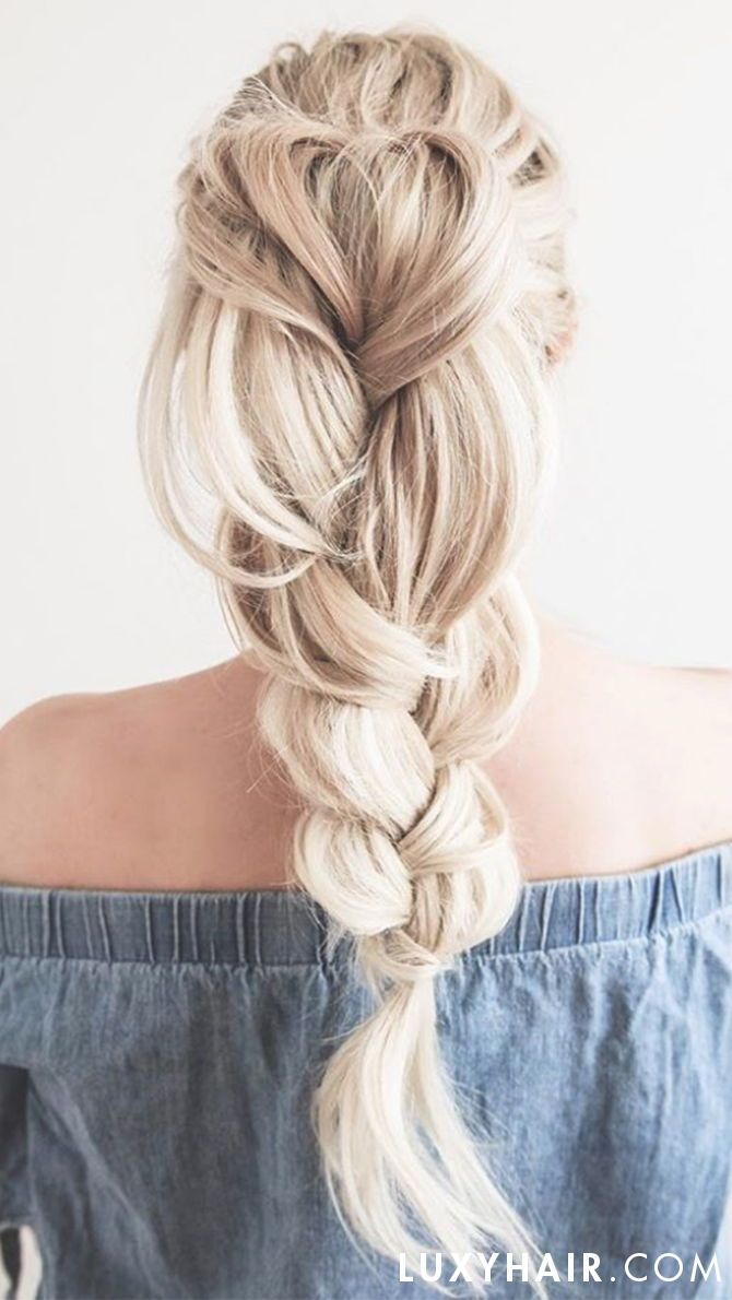 "This braided high ponytail is definitely a look we will all be rocking this summer. Luxy Hair Extensions in the shade Ash Blonde were used to create this high volume look.<p><a href=""http://www.homeinteriordesign.org/2018/02/short-guide-to-interior-decoration.html"">Short guide to interior decoration</a></p>"