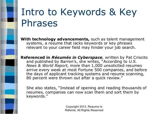 resume catch phrases resume cv cover letter