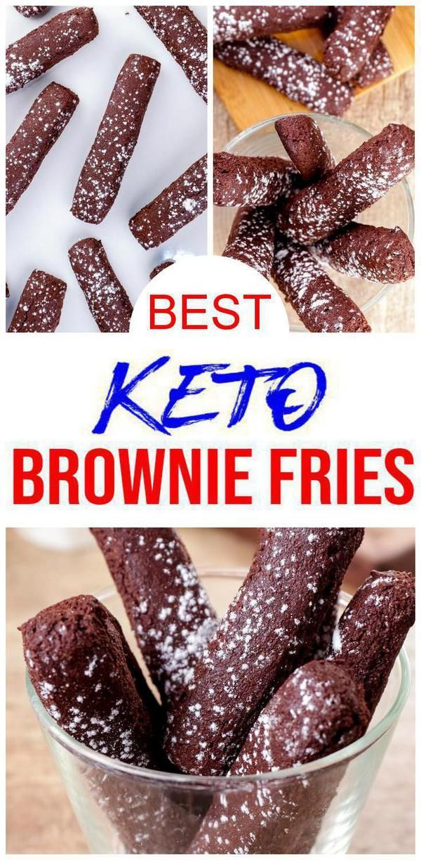 BEST Keto Brownies! Low Carb Chocolate Brownie Fries Idea – Quick & Easy Ketogenic Diet Re