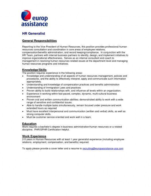 Hr Volunteer Cover Letter | Env-1198748-Resume.Cloud