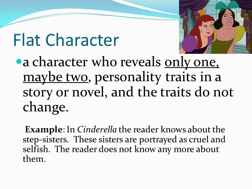 Flat Character Example Characters In Literature, Character - character analysis template