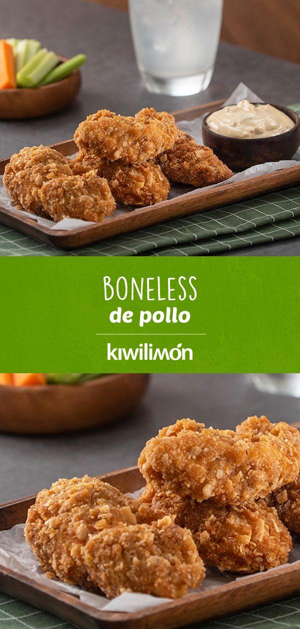 Boneless de Pollo
