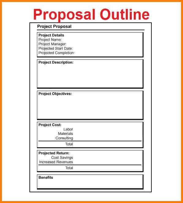 Sample Project Proposal Template Free Index Of Wp - project proposals