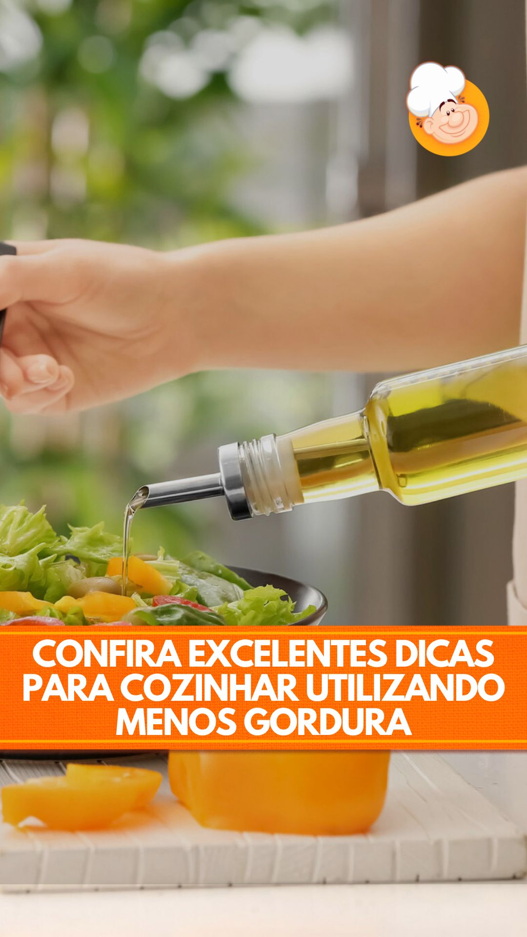 COMO COZINHAR COM MENOS GORDURA: CONFIRA AS DICAS