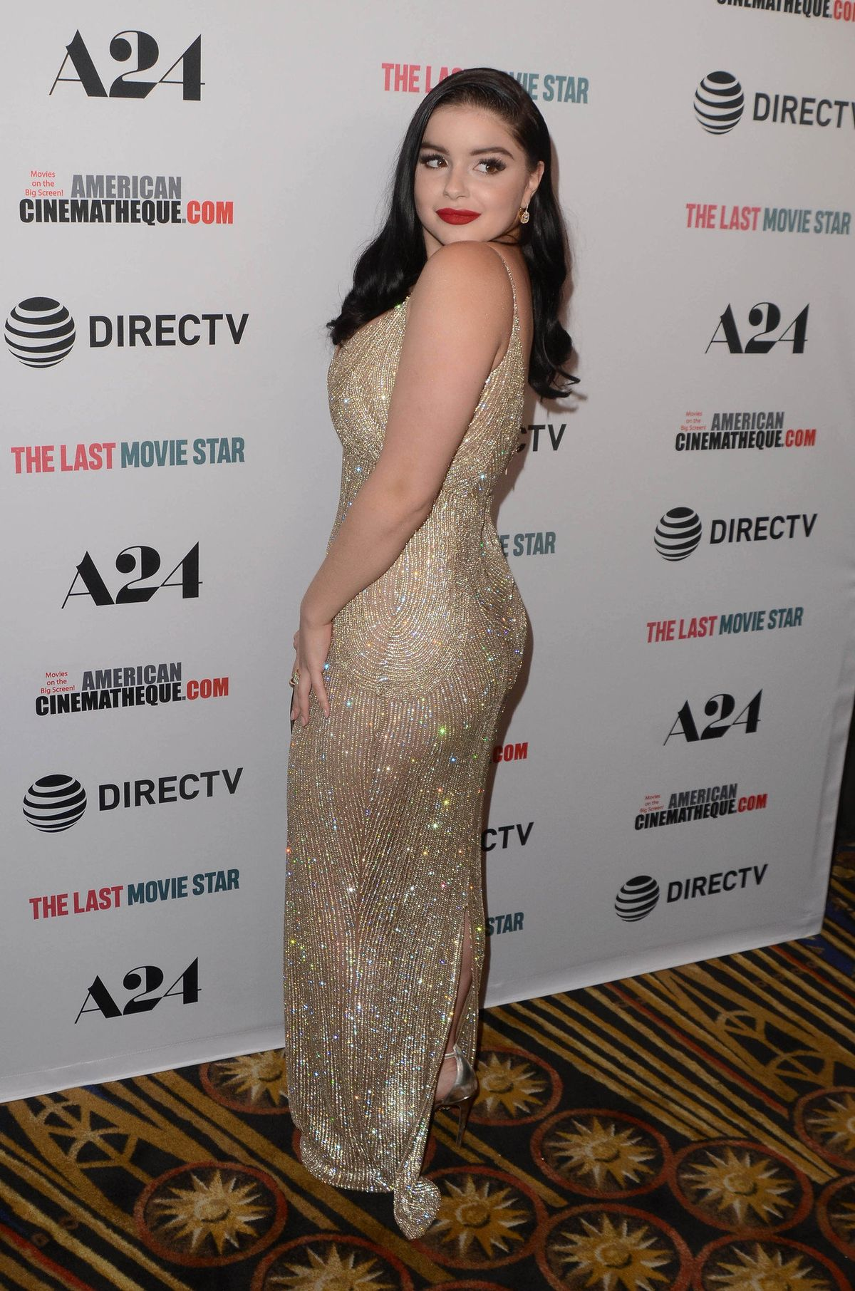 """Modern Family"" actress Ariel Winter channeled 1950s glamour for her return back into the spotlight. Click above to see more photos of her sparkly, old Hollywood-inspired gown!"