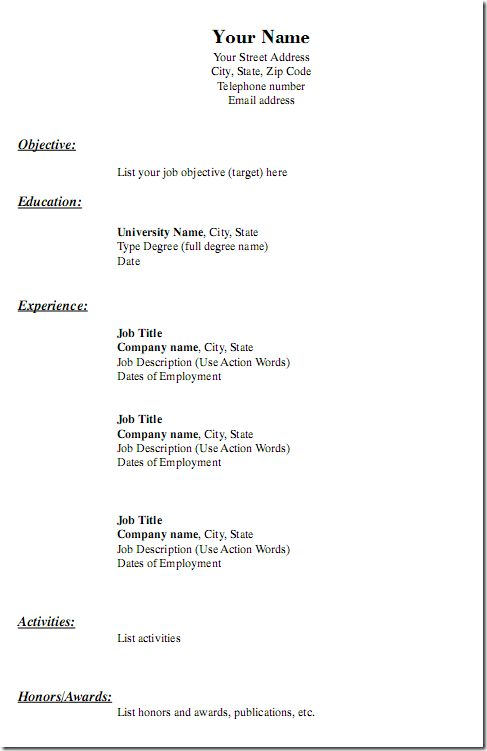 show resume format examples of resumes choose show me good resume generic resume template - Samples Of Medical Assistant Resumes