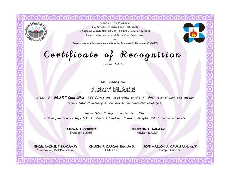 first place certificate free download printables