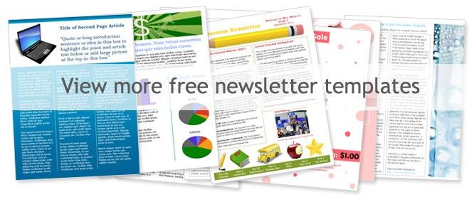 Great Free Newsletter Layout Templates Free Sample Newsletter Templates Free  Newsletter Template Word