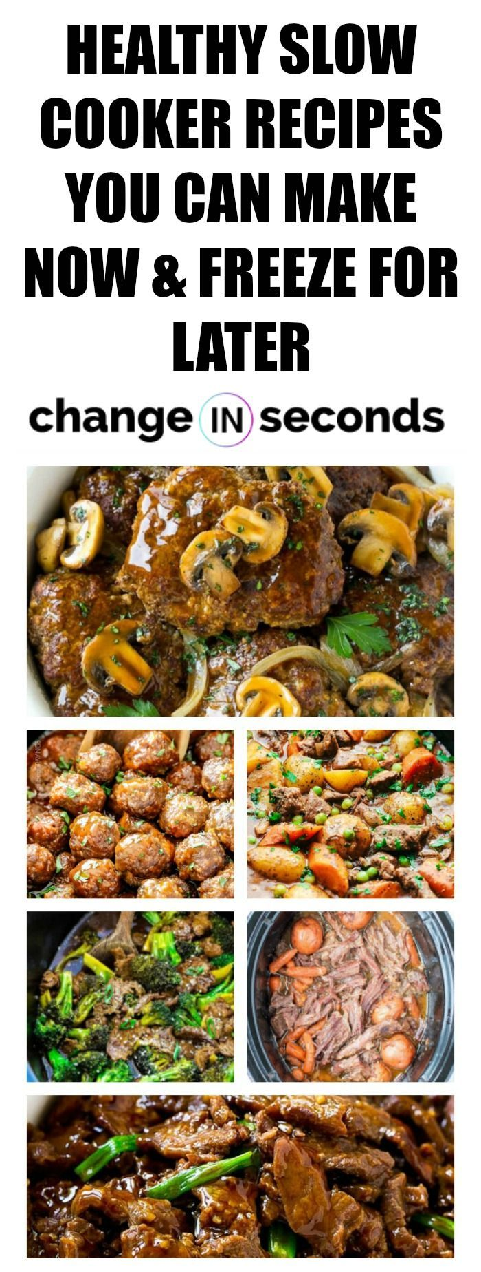 Healthy Slow Cooker Recipes You Can Make Now & Freeze For Later