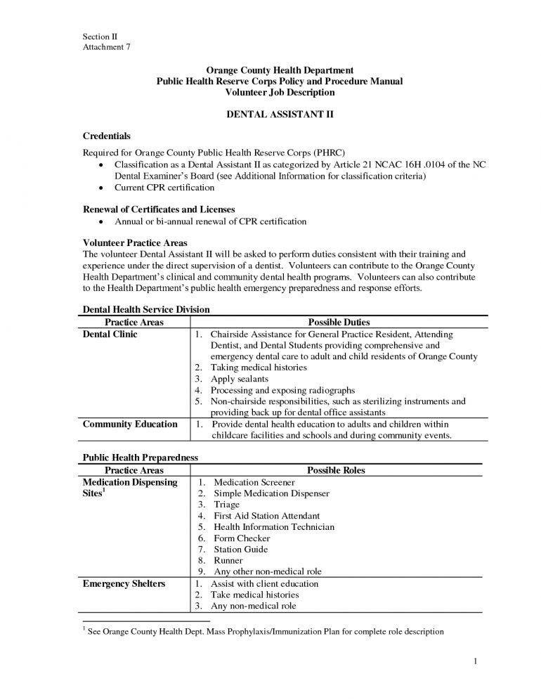 Medical Assistant Job Duties Resume Choose Professional Medical - medical examiner job description