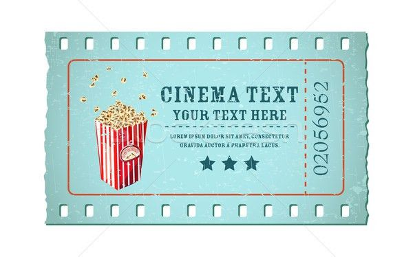 Movie Ticket Template Free Download 40 Free Editable Raffle Movie - movie ticket template for word