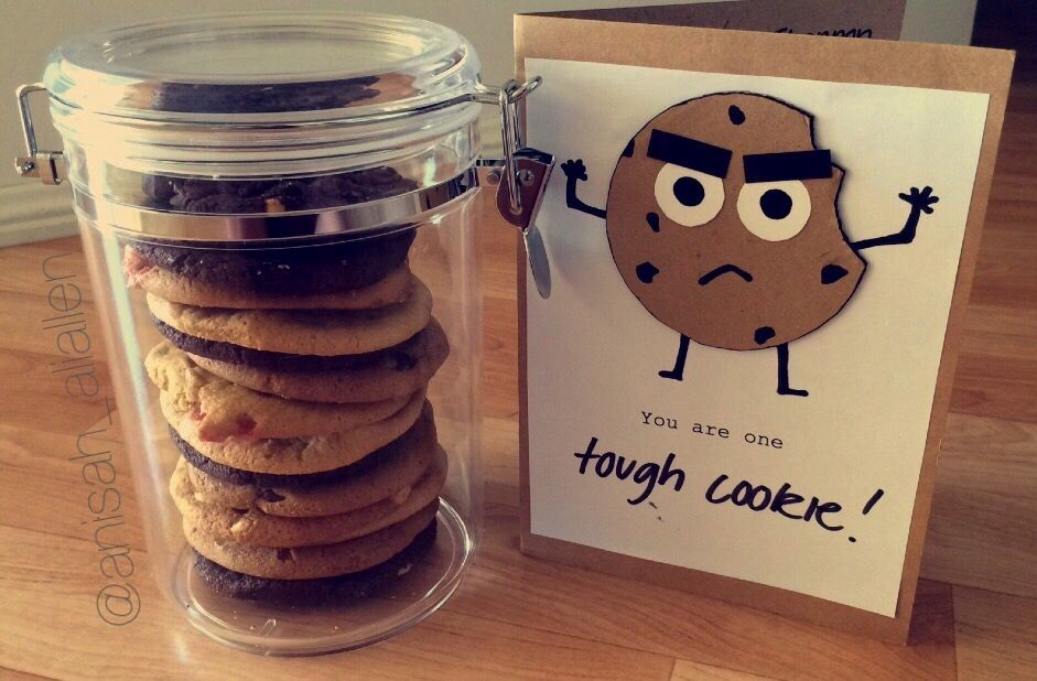 One Tough Cookie Encouragement Gift No Printable But A