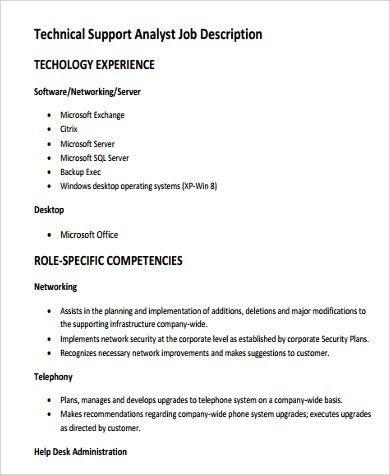 help desk analyst job description resume cv cover letter