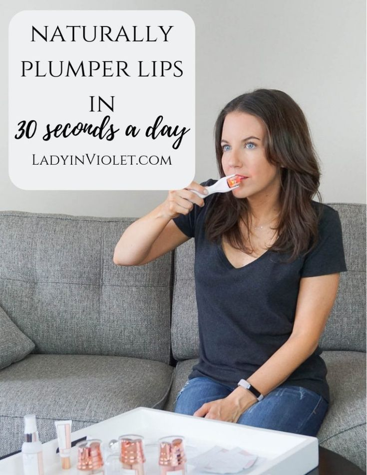 naturally plumper lips in 30 seconds | GloPro lip microneedler review | Houston Blogger Lady in Violet #lips #beauty #howto