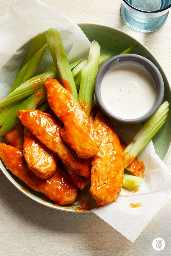 Buffalo Chicken Fingers: Take the spiciness of this kid-favorite dish down a notch by adding just a few drops of hot sauce to the mixture.
