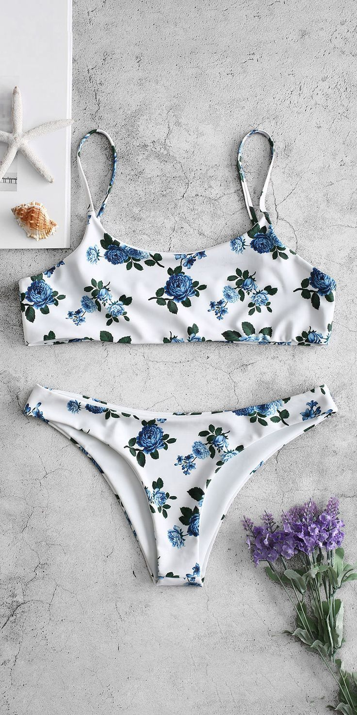 Sweet floral bikini set swimsuit to try – 2019 Bikinis – #Bikini #Bikinis #Floral #Set #Sweet #Swimsuit