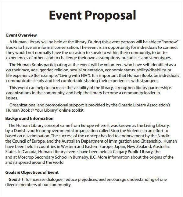 Event Proposal Craft A Perfect Event Proposal Template Now - event proposal template doc