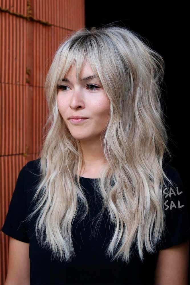 Bardot Hairstyle #blondehairstyles #shaggyhairstyles ★ Do you know how to make your long hair with bangs get the most out of your face shape? Here, we're sharing essential tips on choosing bangs. Alongside the basics, you will see the latest fringe ideas here! #glaminati #lifestyle #longhairwithbangs