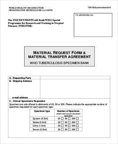 Material Request Form  NodeCvresumePaasproviderCom