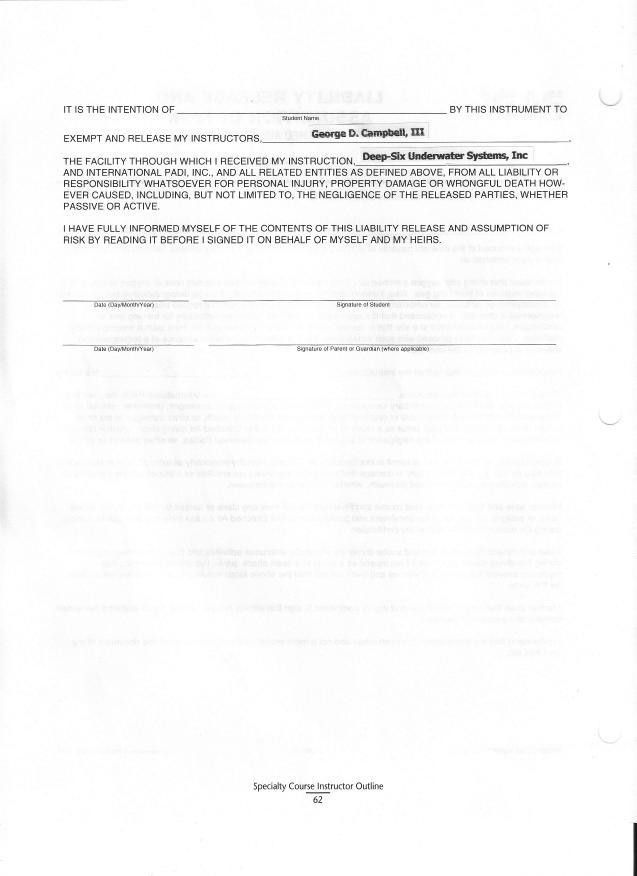 Liability Form Template Release Of Liability Form Template 8 Free - free release of liability form