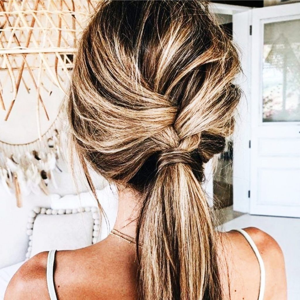 Ponytail ideas for long hair – very pretty ponytail hairstyles