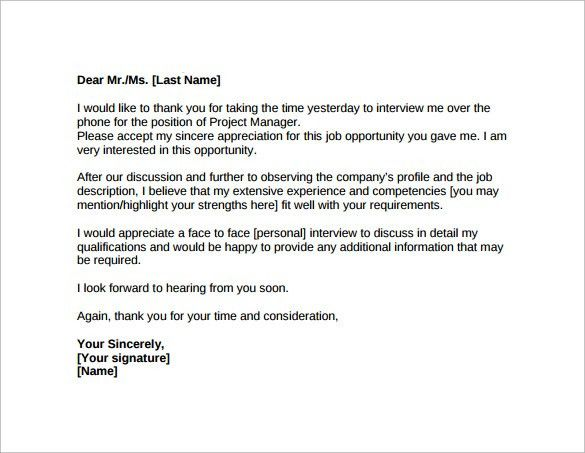 Follow Up Cover Letter After Interview Best 25 Thank You - follow up letter sample