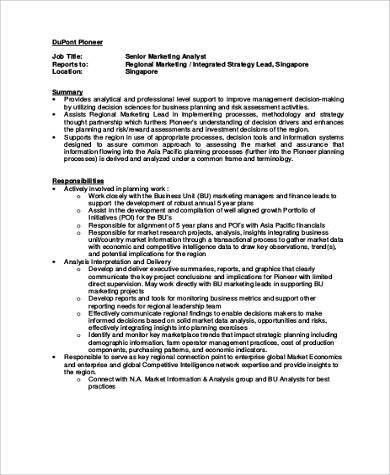 Business Planning Analyst Job Description Sales Analyst Job - research analyst job description