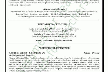 librarian resume