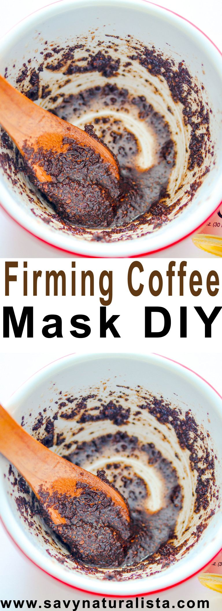 Coffee Grounds are said to tighten the skin and keep it firm! While maintaining a natural glow! Make this easy DIY to tighten the skin!
