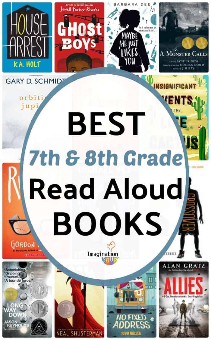 Read Aloud Books for 7th and 8th Grade