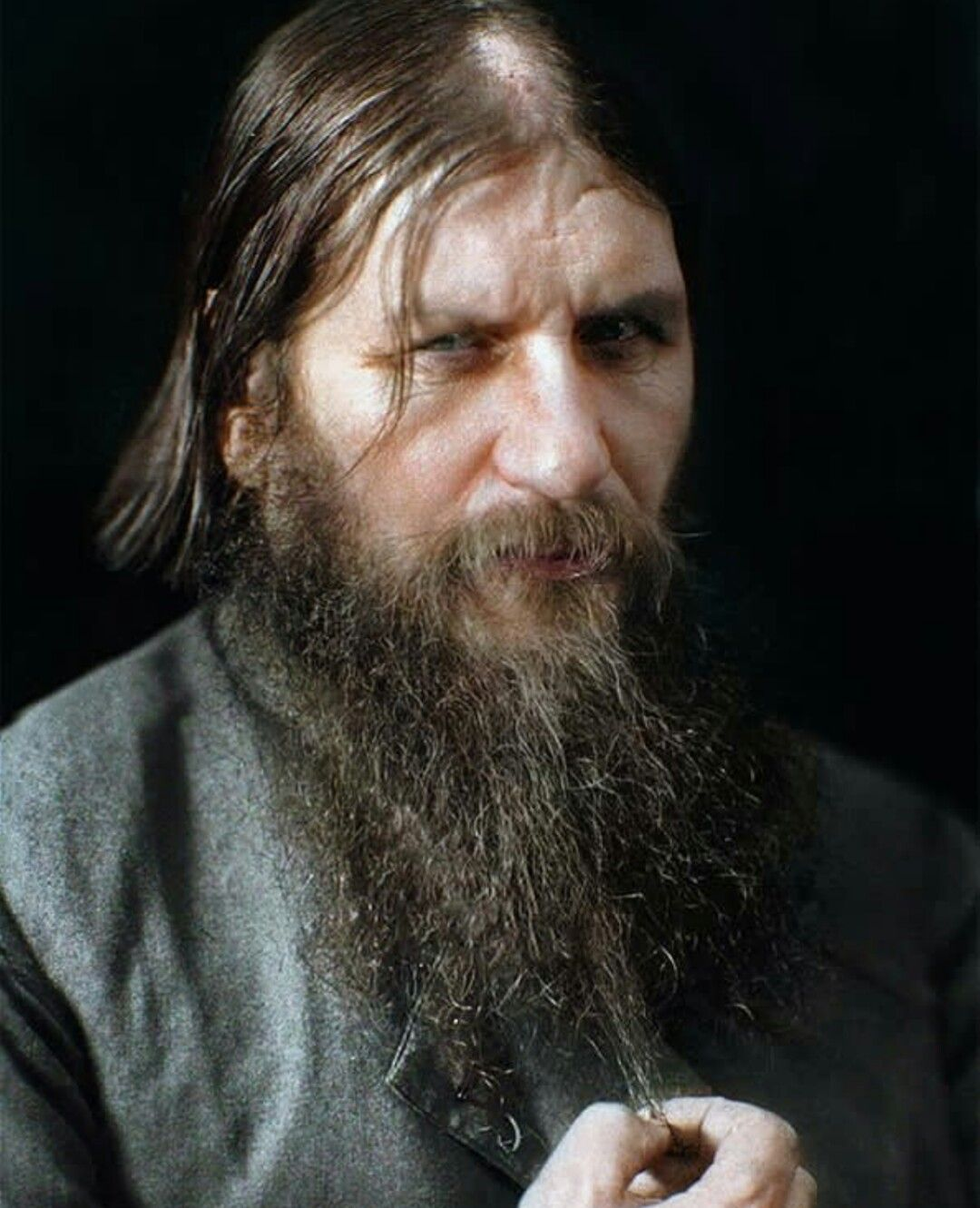 Grigori rasputin portrait | Digital artists, Colorized