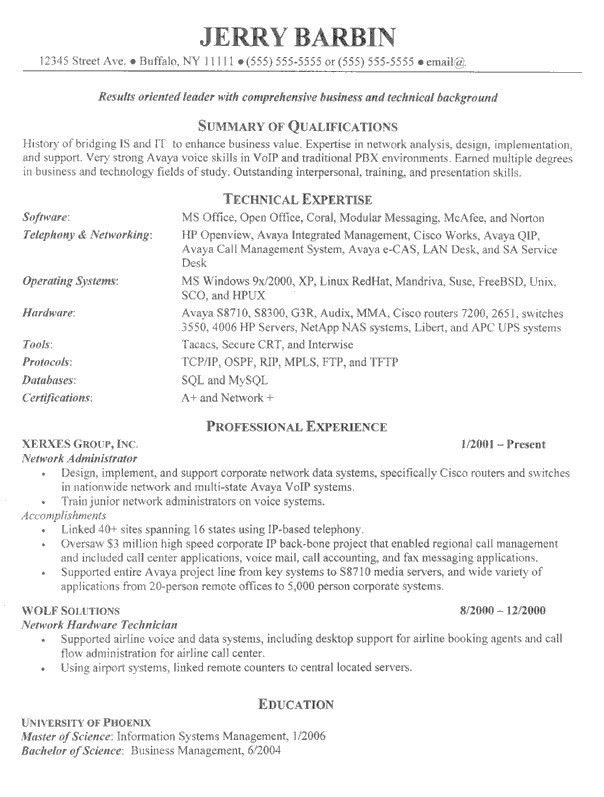 linux administrator resume summary 10 best best system