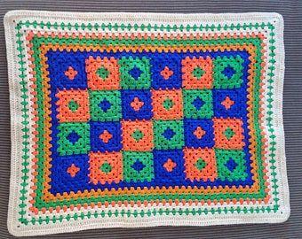Super Soft & Delicate Baby Blanket Crochet Handmade Pastel | Etsy
