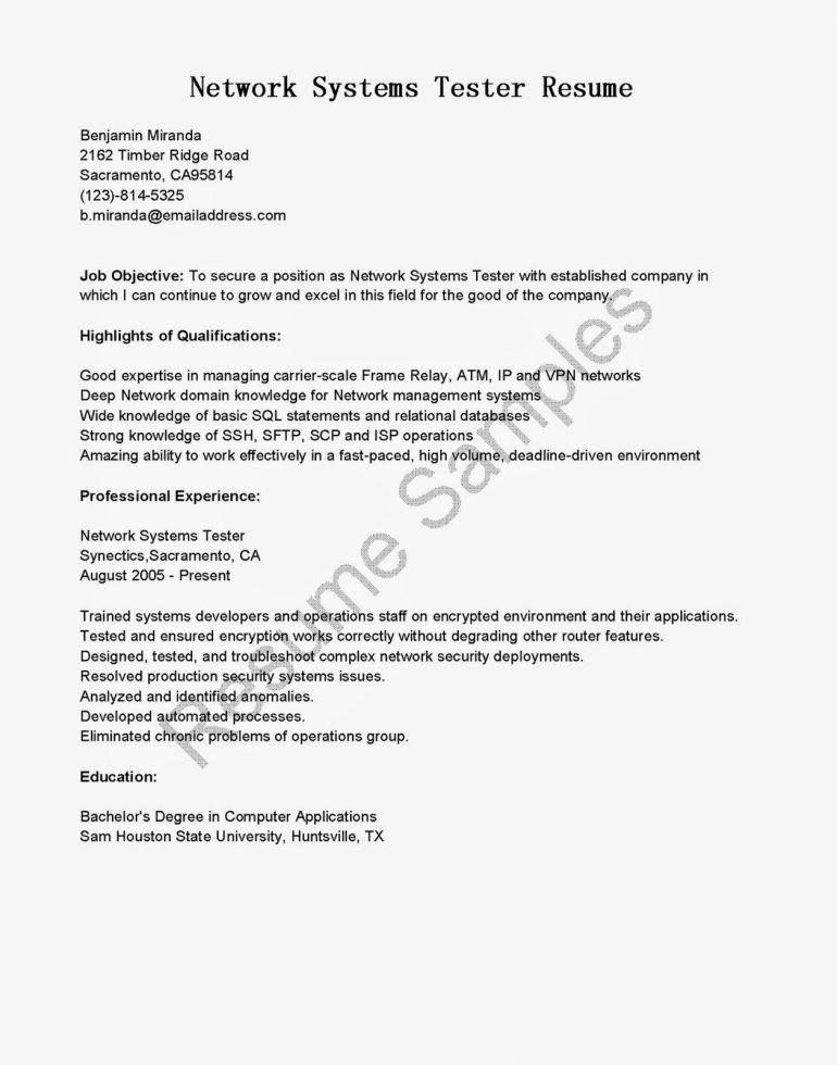 agile tester cover letter