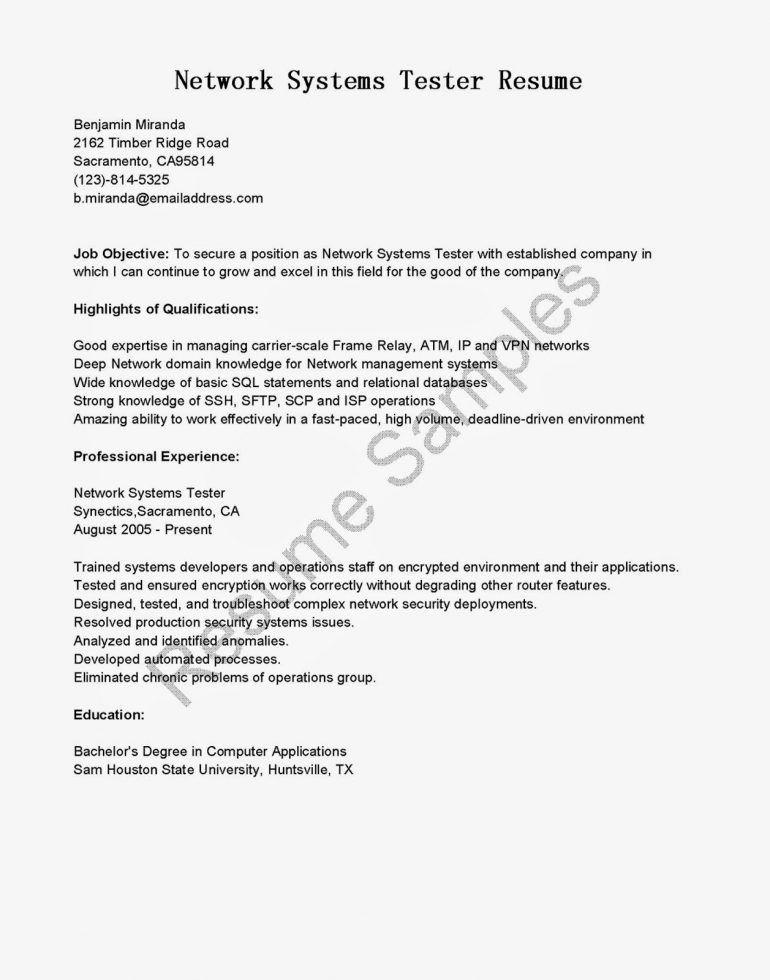 Backend Tester Cover Letter Cvresumeunicloudpl