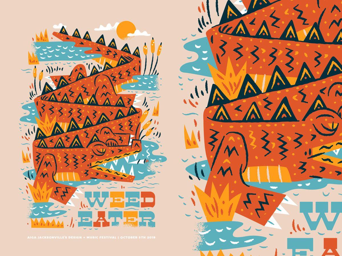 AIGA Design + Music Festival by Kendrick Kidd